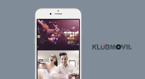 The entertainment portal: Klubmovil by Tekka